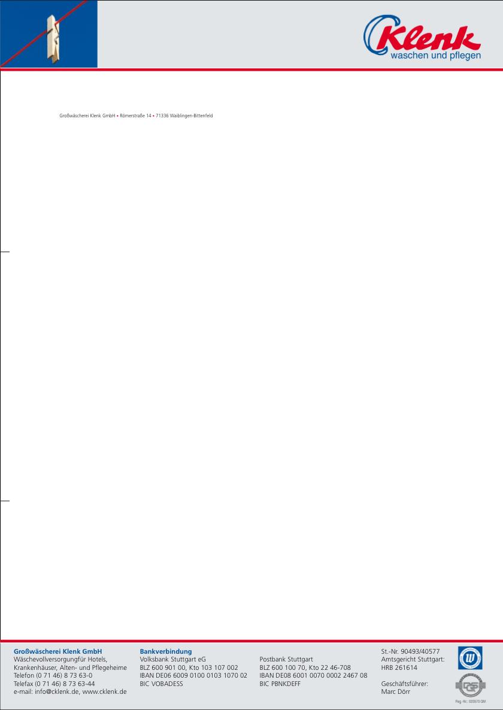 Grafik Briefbogen