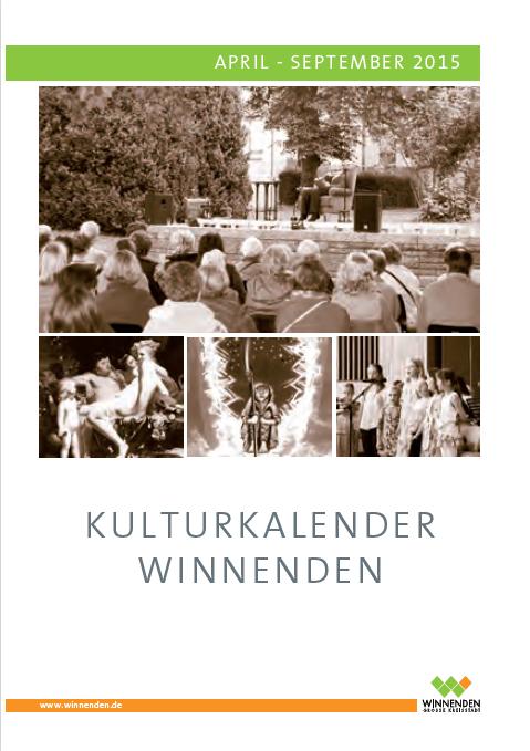 Grafik Kulturkalender Winnenden 01
