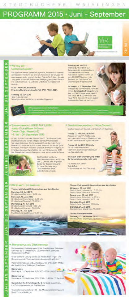 Grafik Programm Stadtbücherei Waiblingen 02